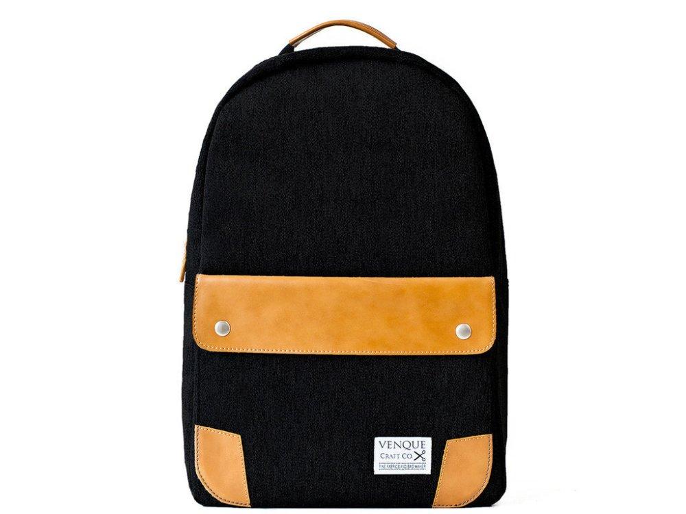 Venque Classic Backpack (Black) - thumbnail