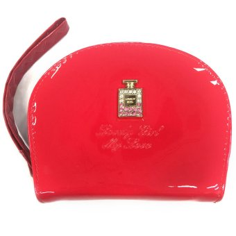 VISTRO 1004 Vinyl Collection Hand Card Wallet (Red)