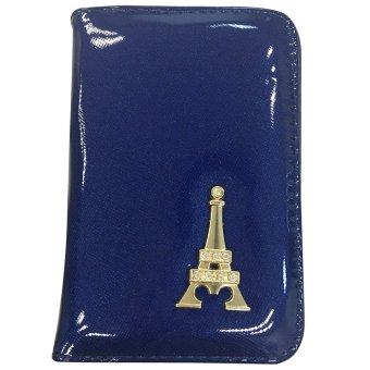 VISTRO 1005 Vinyl Tower Wallet (Blue)