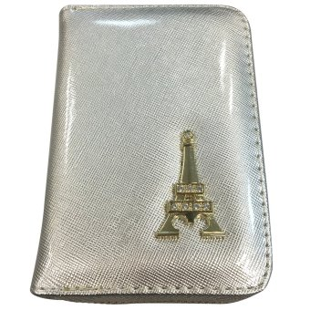 VISTRO 1005 Vinyl Tower Wallet (Silver)