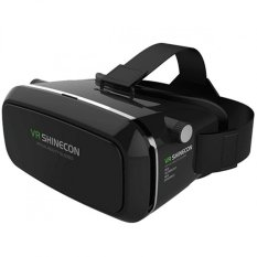 VR Box Shinecon Smartphone 3D Virtual Reality Glasses (Black)