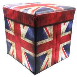 Wallmark Ottoman Storage Box Chairs (United Kingdom)