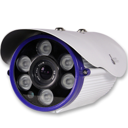 Warden Security WI-IP720PBC IP Bullet Camera (White)