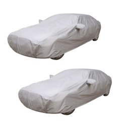Water Proof Car Body Cover Set of 2 (Grey)