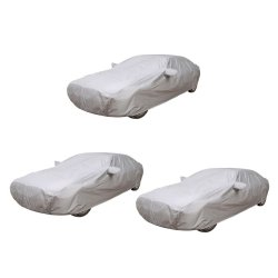 Water Proof Car Body Cover Set of 3 (Grey)
