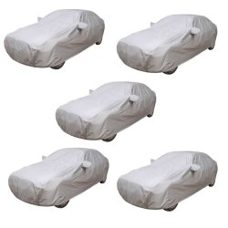 Water Proof Car Body Cover Set of 5 (Grey)