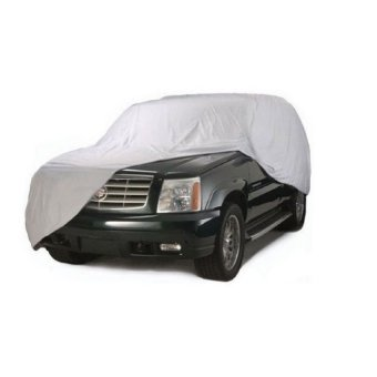 Waterproof Lightweight Nylon Car Cover for SUVs (Gray) - picture 2