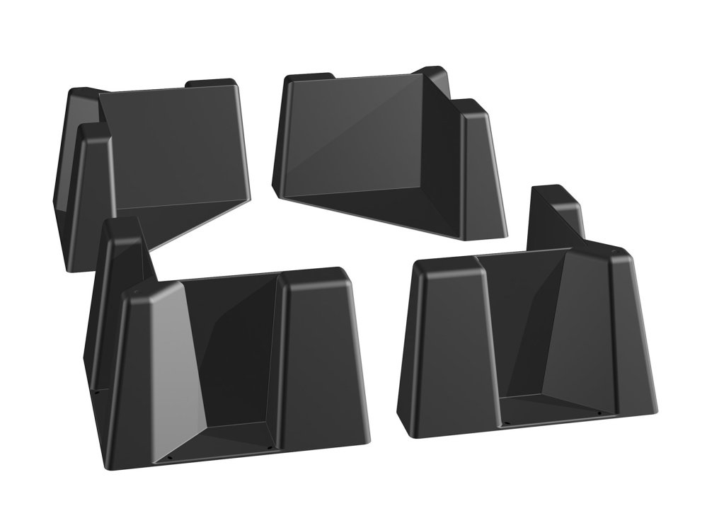 WeatherTech Cargo Tech 8CTK1 Black Set of 4