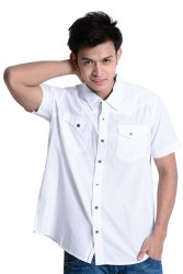 Wrangler Casual Shirt (White)
