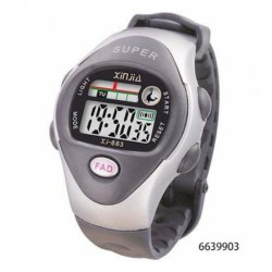 Xinjia Kid's LED Water Resistant Sports Watch Unisex Gray / Silver Plastic Strap XJ-663