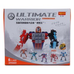 Cutie Children Educational Toy 5 piece Ultimate Warrior Robot Collection Assembly Toy Set