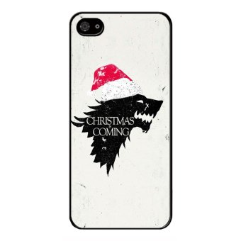Y&M Christmas Coming Wolf Black berry Z10 Phone Case (Multicolor)