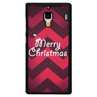 Y&M Merry Christmas Cover for Red Mi 1S (Black)