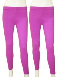 Yabyab Store Work-Out Leggings (Violet) Set of 2