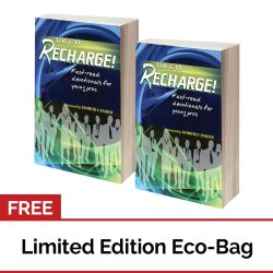You can Recharge: Fast-read Devotionals for Young Professionals Set of 2 with FREE Eco Bag