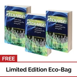 You can Recharge: Fast-read Devotionals for Young Professionals Set of 3 with FREE Eco Bag