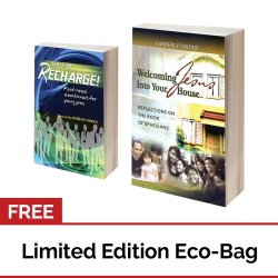 You can Recharge: Fast-read Devotionals for Young Professionals + Welcoming Jesus Into Your House with FREE Eco Bag