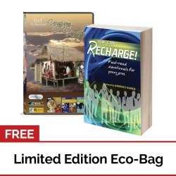 You Can Recharge: Fast-read Devotionals for Young Pros (Book) + Usapang Pamilya Collection Volume #7 (DVD) with FREE Eco Bag