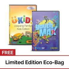 Youthmax: Be Free And Enjoy Life! And U-Kids Usapang Pamilya Kids Edition: Vol. 2 (dvd) With Free Eco Bag By Apmedia Philippines.