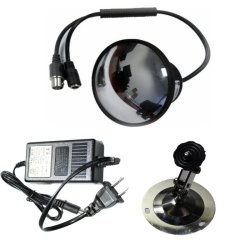 YS-7322 CCTV Mirror Hidden Security Camera (Black)