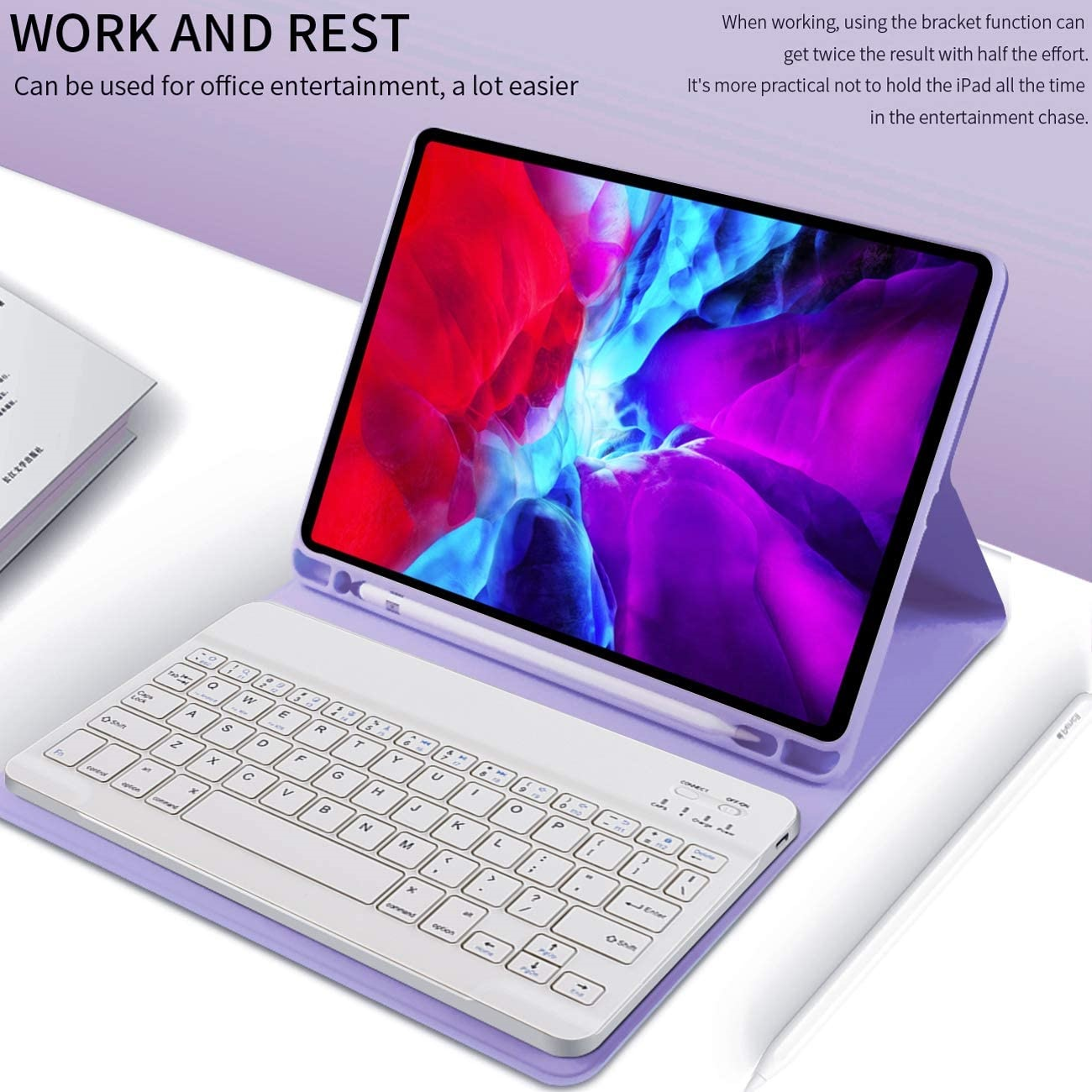 Ipad 5th Gen 9 7 Wireless Bluetooth Keyboard Folio Case Black Lazada Ph