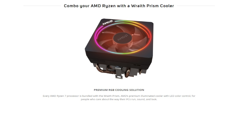 Amd Ryzen Wraith Prism Rgb Lighting Control Software