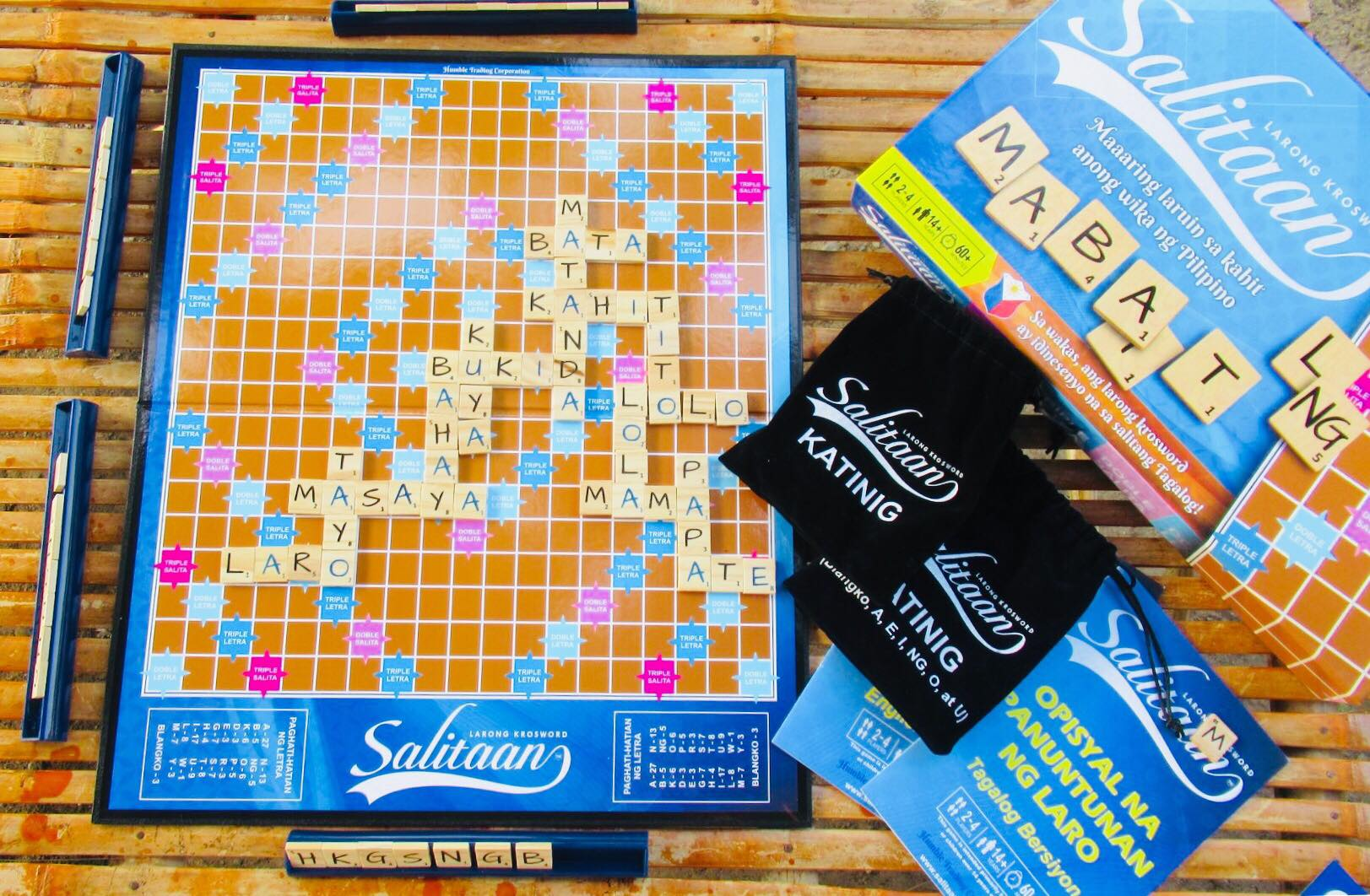 Salitaan Larong Krosword: Buy sell online Board Games with cheap ...