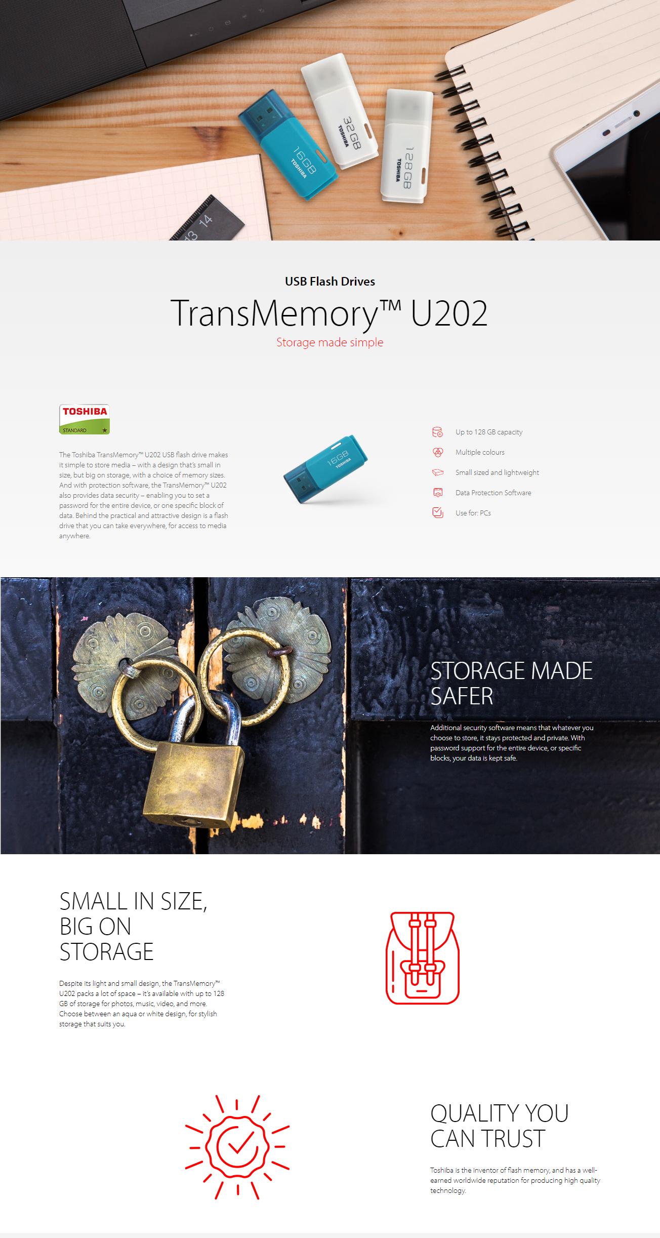 Toshiba Hayabusa U202 16gb Usb Flash Drive White Lazada Ph Disk Transmemory Original Specifications Of