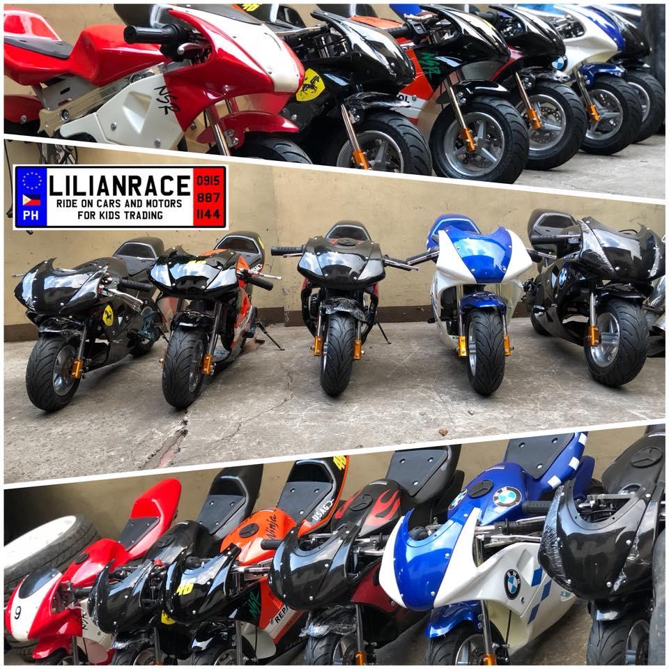 Lilianrace 49cc 2Stroke Ninja Pocket Bike