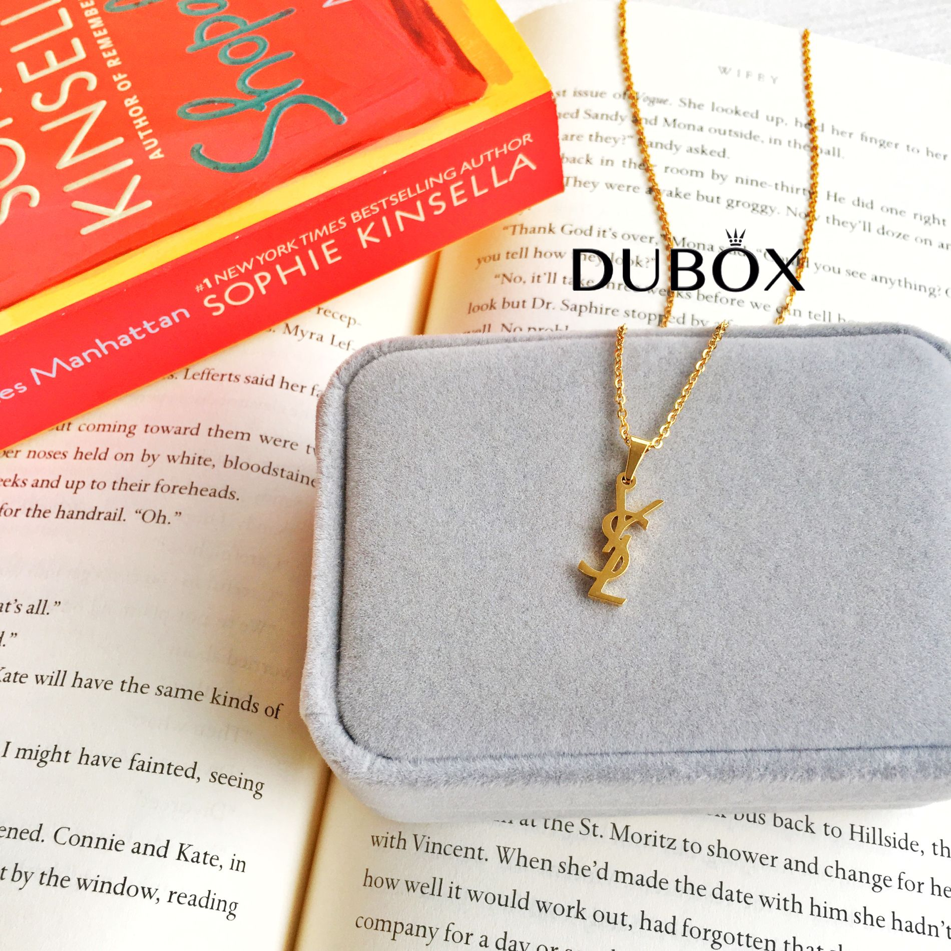 4046f909da6 Specifications of (BUY 1 + FREE EARRINGS) DUBOX PH 18K Gold-Plated  Hypoallergenic Non-Tarnish Stainless Steel Fashion Designer YSL-Inspired  Brand Necklace ...