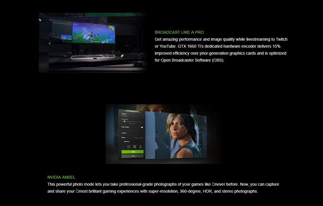PALIT GTX 1660 Ti StormX OC 6GB GDDR6 192bit DVI HDI DP Graphics Card