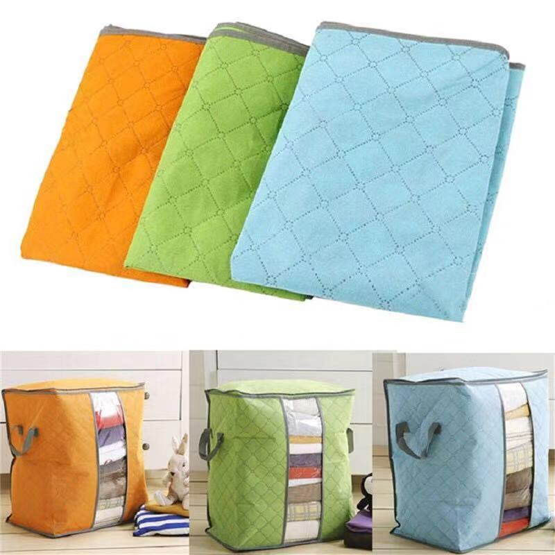 Specifications of Foldable Clothes Pillow Blanket Closet Underbed Storage Bag