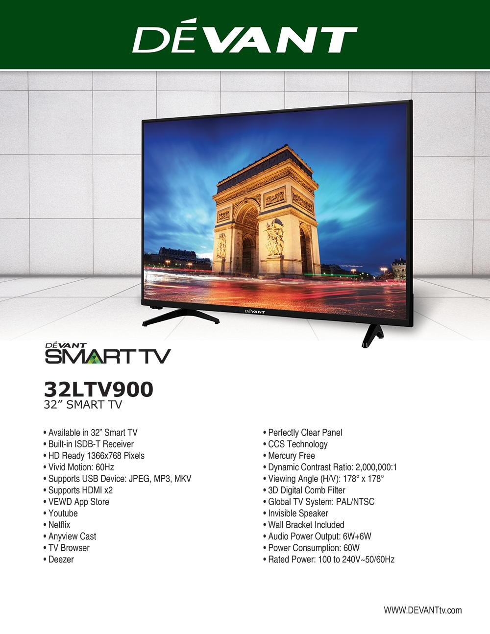 Devant 32LTV900 Smart Television