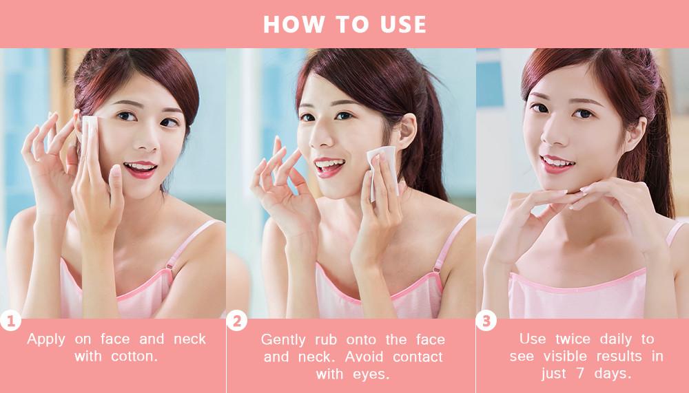 Organic Skin Japan 4x Intensive Whitening Toner with Vitamin C (100ml)  antiacne anti acne antipimple anti-pimple korean japan skincare skin care  gluta