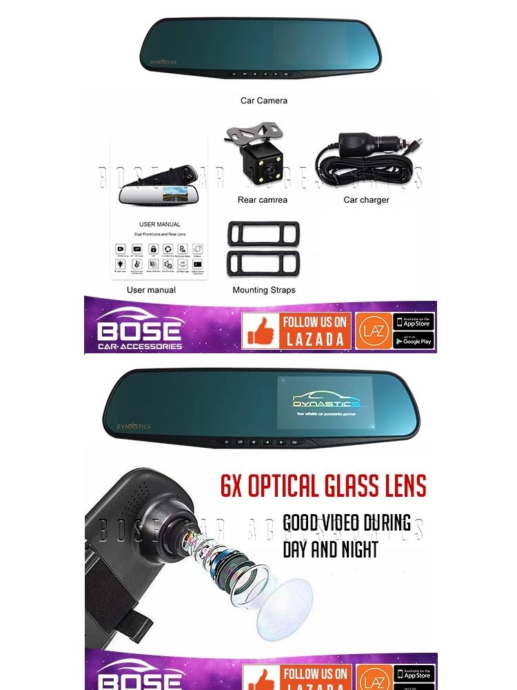 Dynastics Standard Dash Cam DVR - Original Dash Camera DVR (Good Night  Vision)