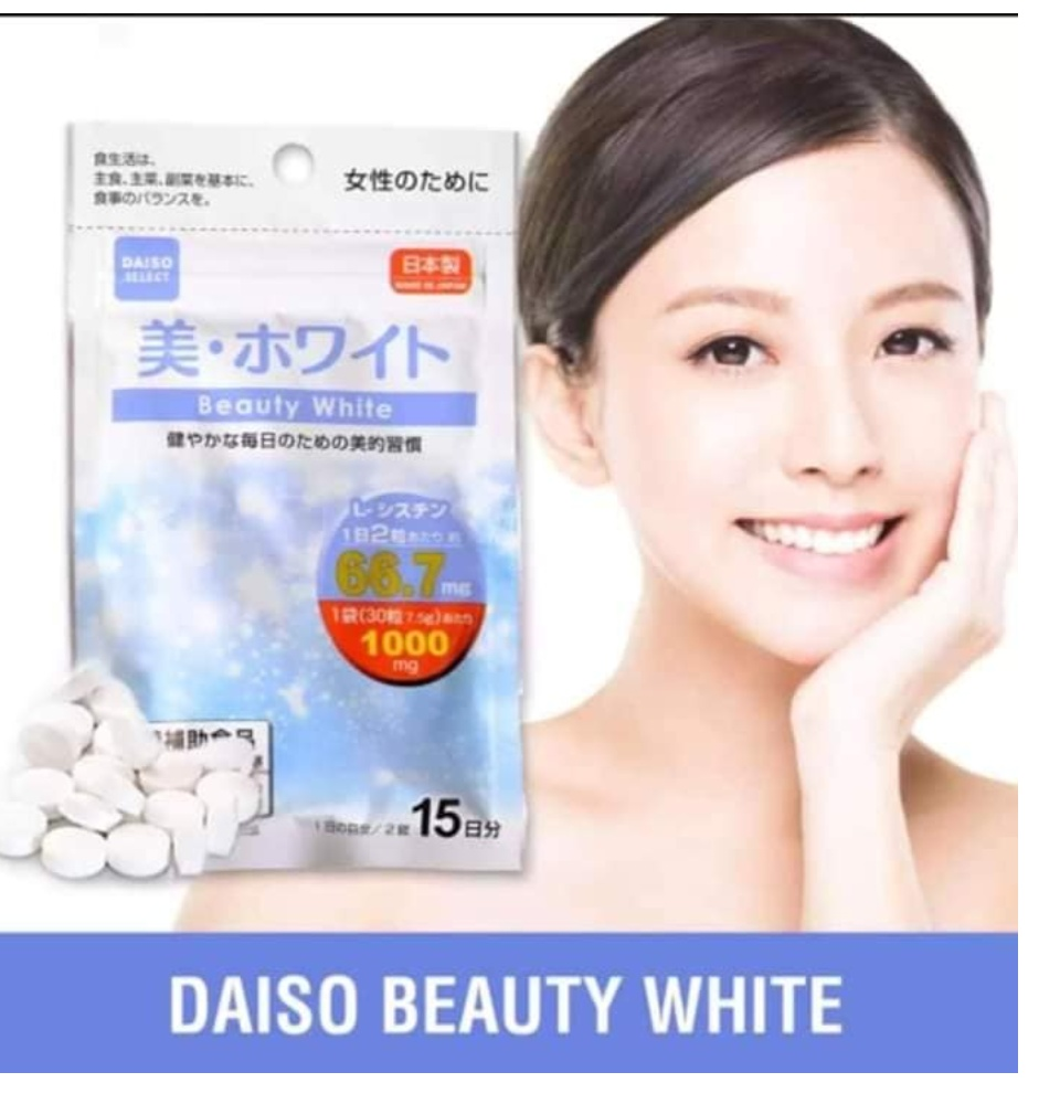 Cystine Collagen Japan L Daiso Beauty White Tablets Skin Lightening