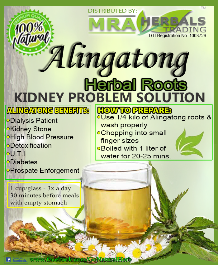 ALINGATONG HERBAL ROOTS