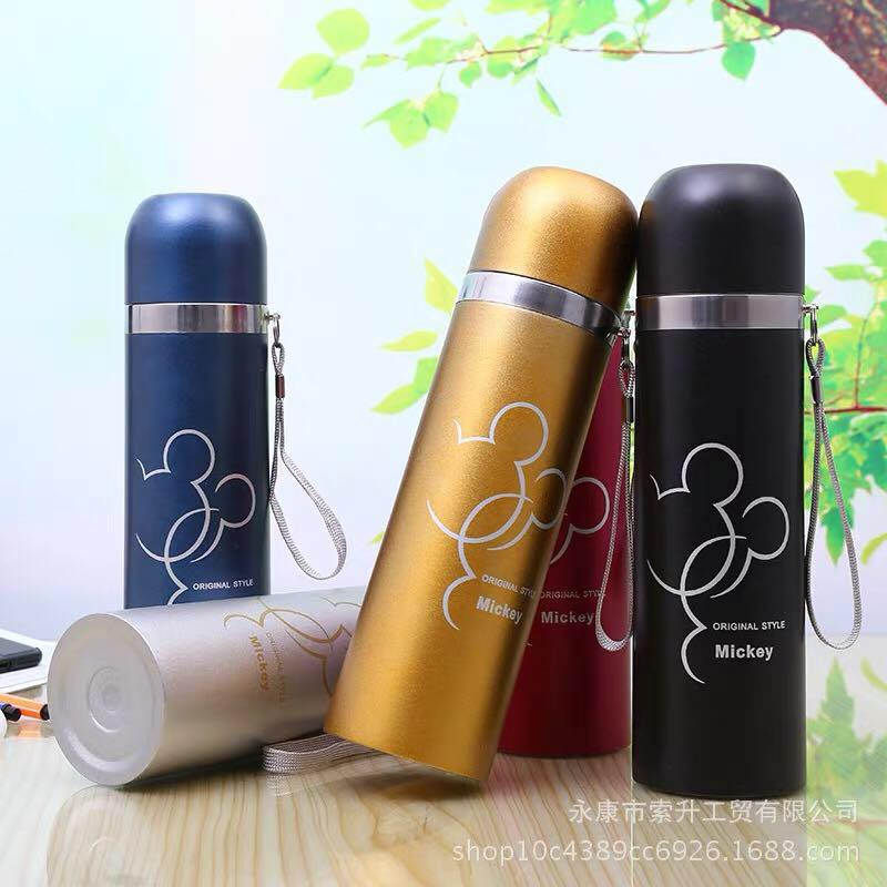 Flasks Steel Vacuum Thermos Mug Tumbler Stainless Insulated Color Cup May Bottle Thermo Vary Water rxCBode