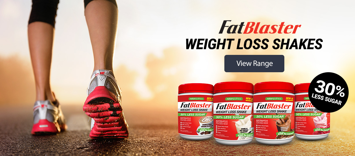 Naturopathica Fatblaster Weight Loss Shake Vanilla Ice Cream Flavor
