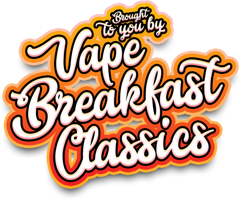 French Dude by Vape Breakfast Classics Imported Premium E-Liquid 3mg 100ml  - French Toast Topped With Whipped Cream, Blueberries, and Maple Syrup