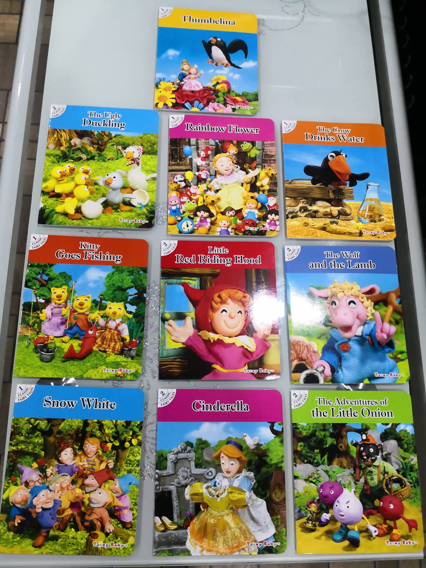 10 in 1 Classical Story Book for Children Bedtime Stories Story Telling  Educational