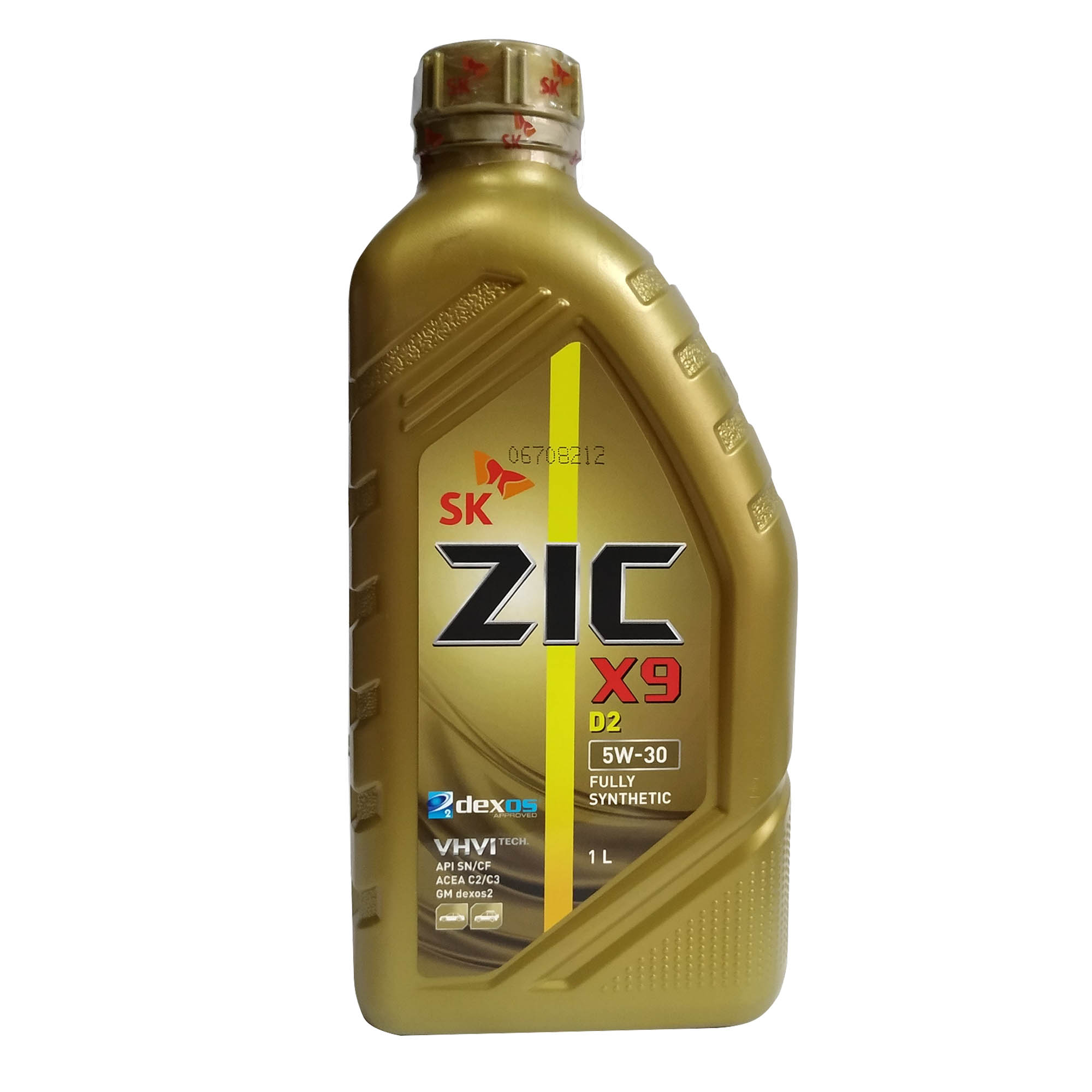 SK ZIC X9 D2 (Dexos2) 5W-30 Fully Synthetic Motor Oil 1L ( 1 Liter ) Dexos  Approved