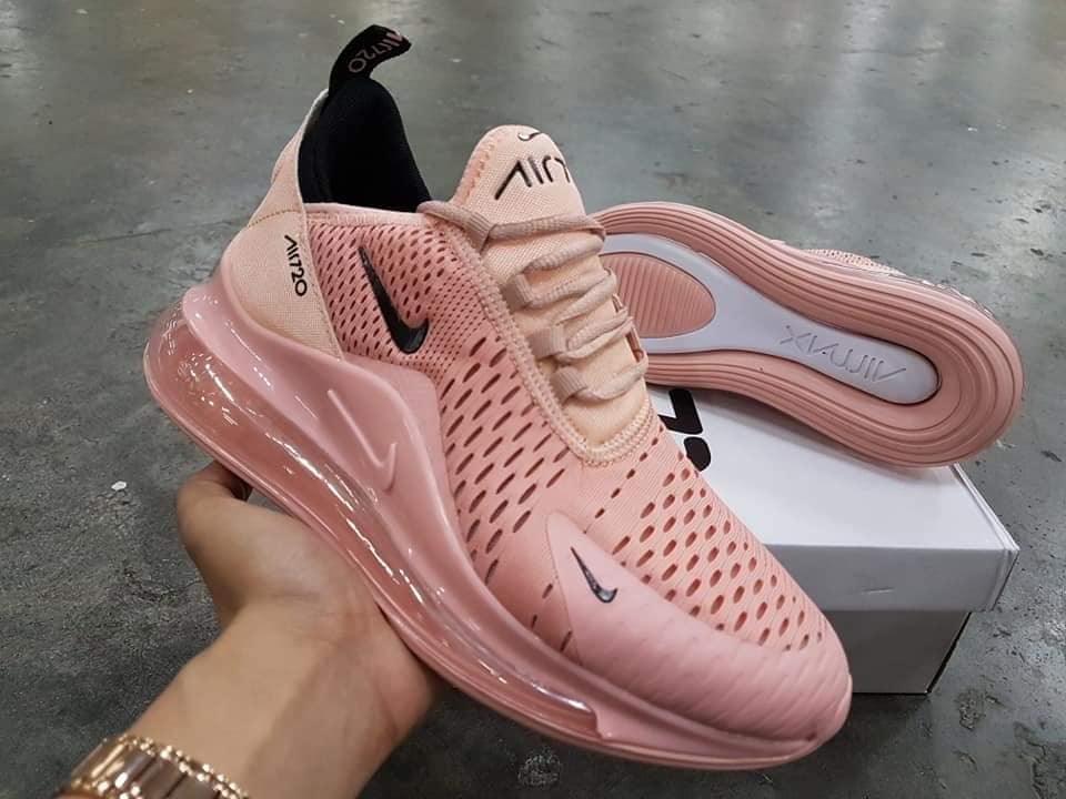 Nike Air Max 720 Lavender Maroon Women's Running Shoes