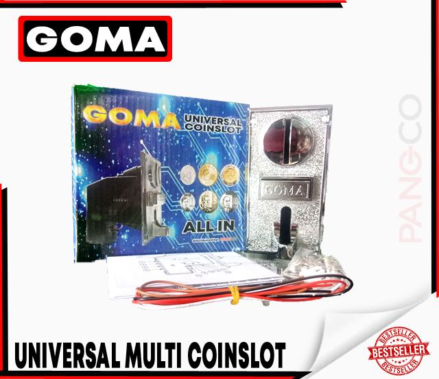 UNIVERSAL COIN SLOT/MULTI COIN SELECTOR (GOMA)
