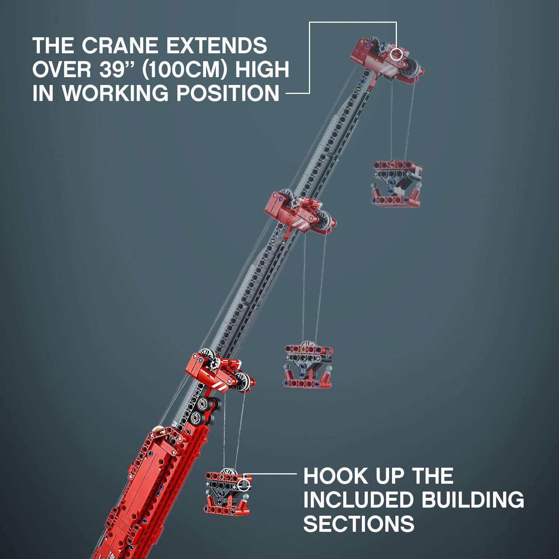 LEGO Technic Rough Terrain Crane 42082 Building Kit Power Function Motor  Construction