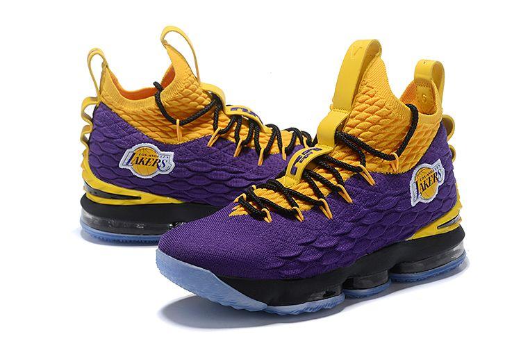 hot sale online 7ddbe 1cccf nike_Lebron 15 Mid Top Offical Sport Shoes Men's Basketball Shoe Anti-Slip  Slip Resistant Skid Resistance