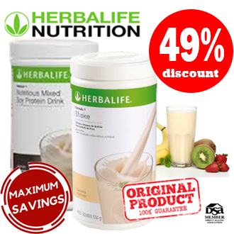 Herbalife Shake Canister Duo Dulce de