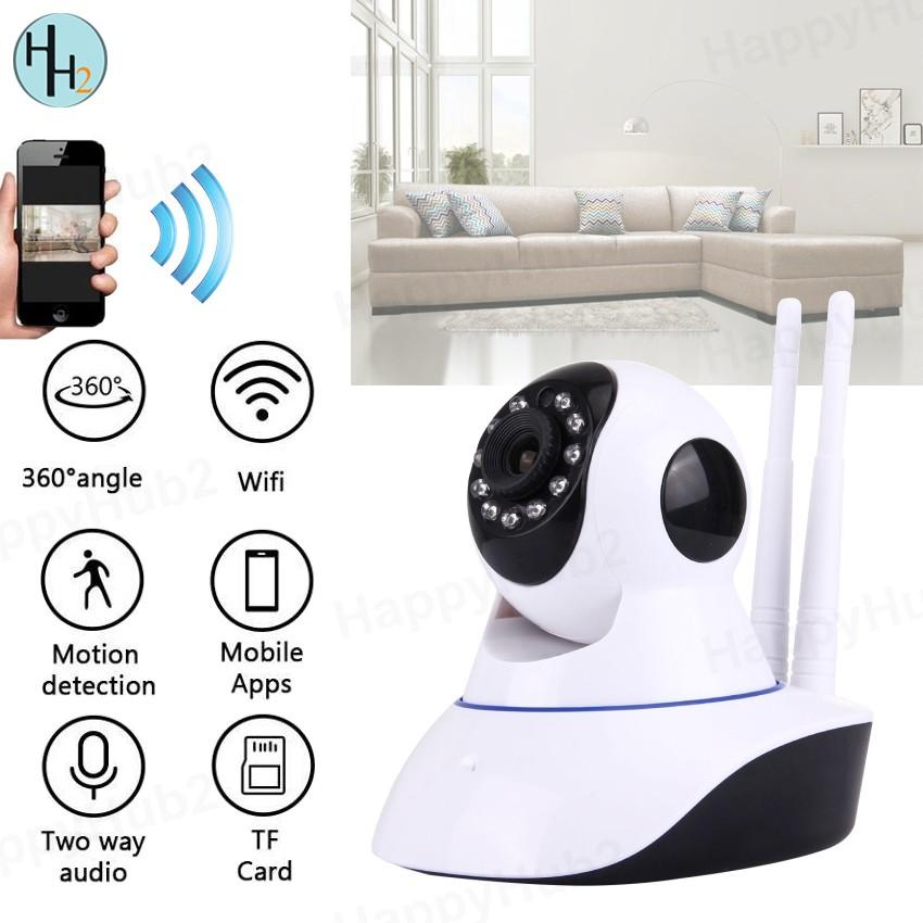 Wifi Smart camera SP017 1080P HD IP Camera Wireless IR Night Vision Camera  NVR P2P Motion Detection 355 Degrees PanTilt Indoor Surveillance CCTV