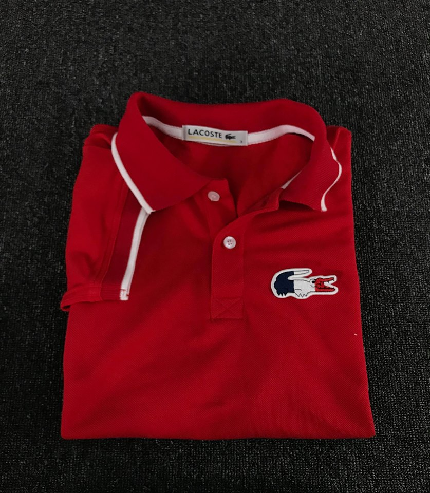 a59aba94 Mes's Lacoste Polo Shirt Red (FRANCE)