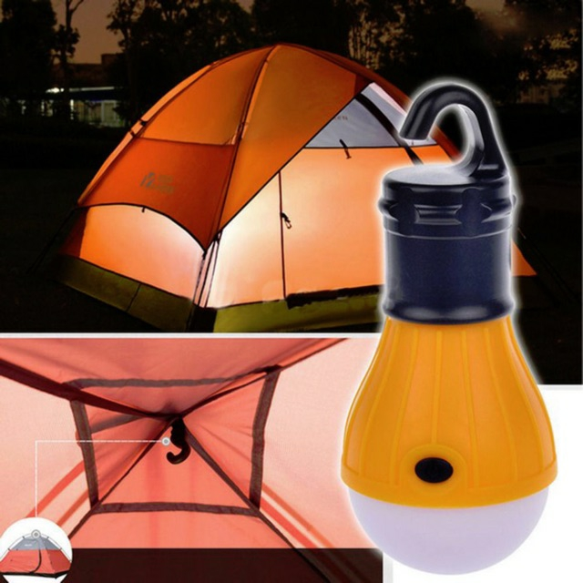 Portable Outdoor Hanging LED Camping Tent Light Bulb
